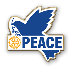 Rauhan merkki - Peace Badge - Rotary International